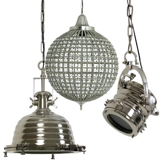 Lampy wiszące, żyrandole