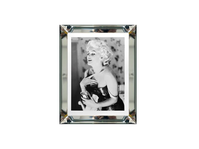 Obraz Chanel No 5 W Ramie Lustrzanej 5th Avenue Luxury Interiors